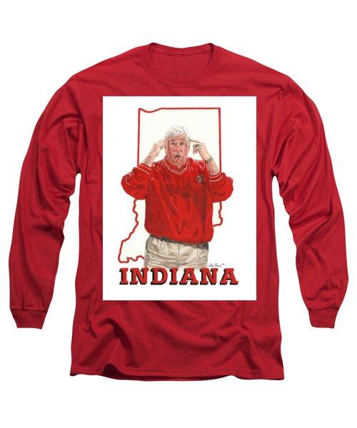 The General Bob Knight Long Sleeve T-Shirt
