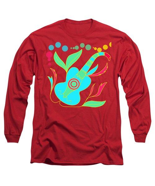 The Guitar Long Sleeve T-Shirt