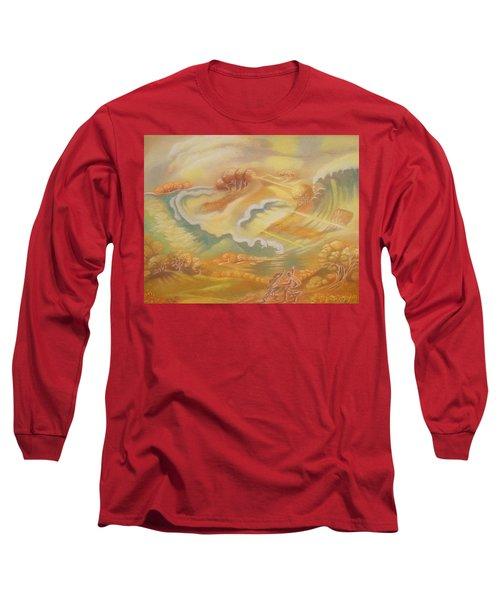 The Happy Tsunami Long Sleeve T-Shirt