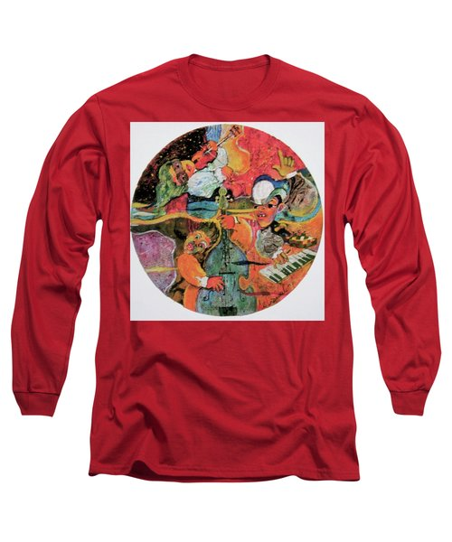 The Holland Jazz Trio Long Sleeve T-Shirt by Lee Ransaw