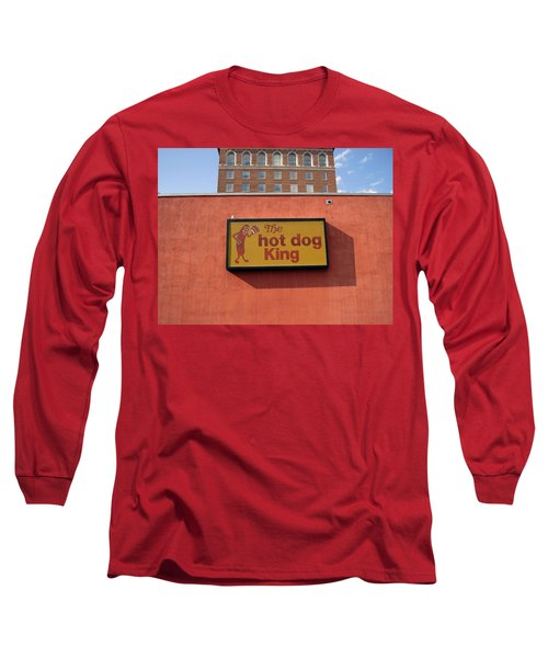 The Hot Dog King Long Sleeve T-Shirt