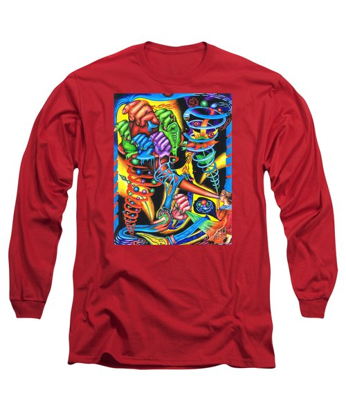 The Infinite Expansion Of A Cosmic Revelation Long Sleeve T-Shirt