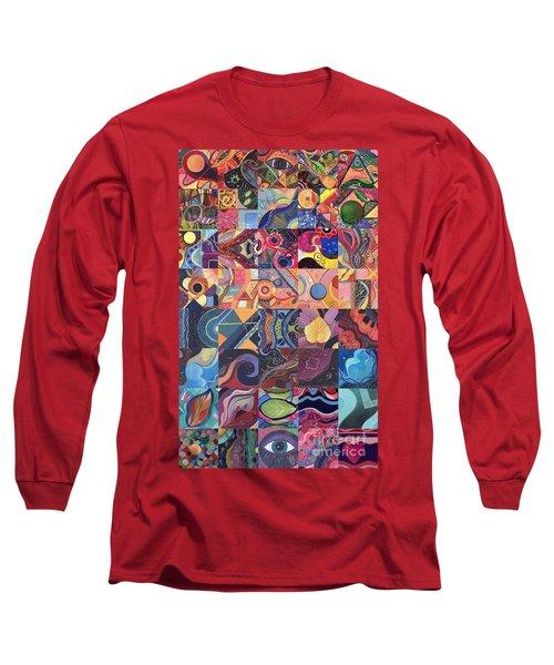 The Joy Of Design First 40 Variation 1 Long Sleeve T-Shirt