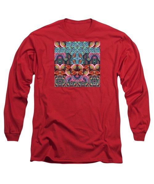 The Joy Of Design Mandala Series Puzzle 7 Arrangement 3 Long Sleeve T-Shirt