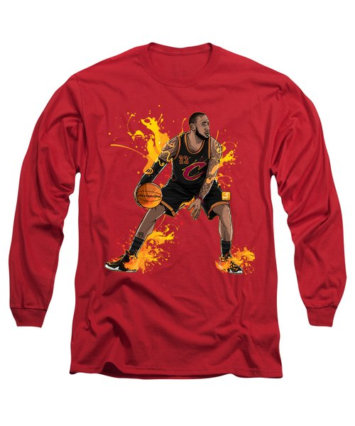 The King James Long Sleeve T-Shirt by Akyanyme