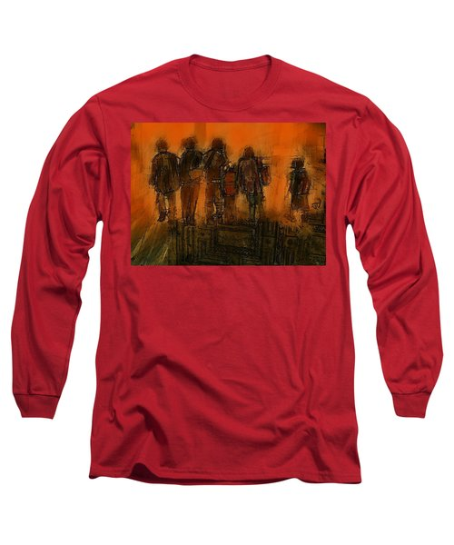 The Knowledge Seekers Long Sleeve T-Shirt by Jim Vance