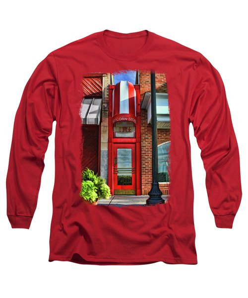 The Little Popcorn Shop In Wheaton Long Sleeve T-Shirt
