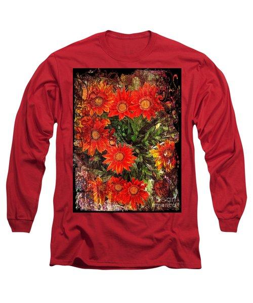The Magical Flower Garden Long Sleeve T-Shirt