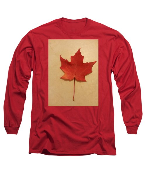 The Maple Leaf Forever Long Sleeve T-Shirt