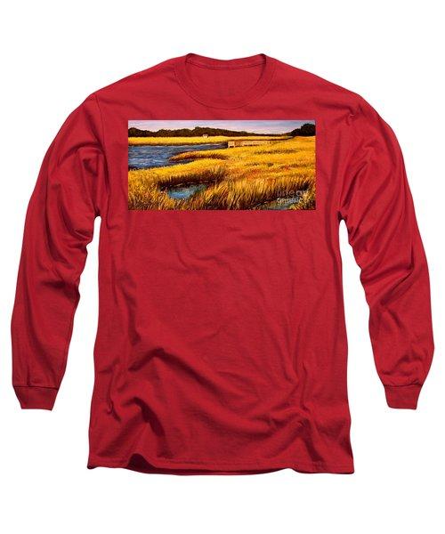 The Marsh At Cherry Grove Myrtle Beach South Carolina Long Sleeve T-Shirt
