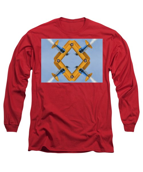 The Mohrbeous Strip Long Sleeve T-Shirt