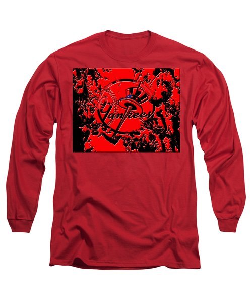 The New York Yankees B1 Long Sleeve T-Shirt by Brian Reaves
