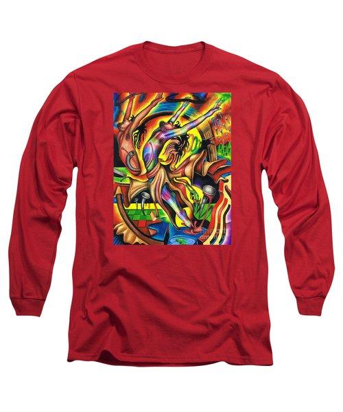 The Numinous Spectrum Of Exaltation Long Sleeve T-Shirt
