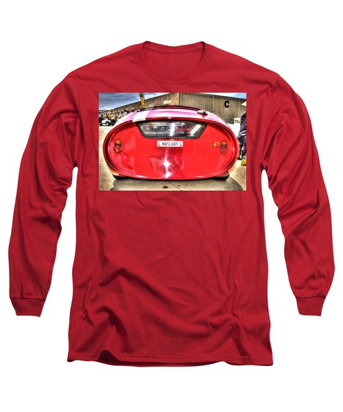 The Oil Drum Long Sleeve T-Shirt by Josh Williams