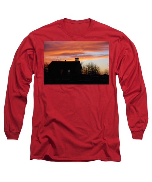The Old Schoolhouse Long Sleeve T-Shirt