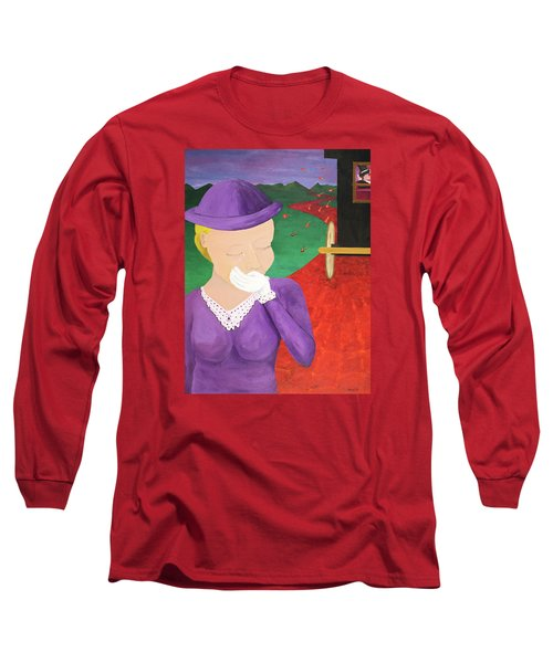 The One That Got Away Long Sleeve T-Shirt by Thomas Blood