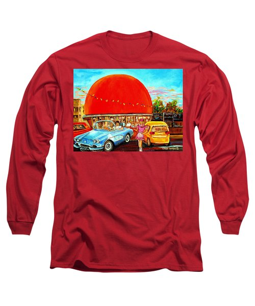 The Orange Julep Montreal Long Sleeve T-Shirt