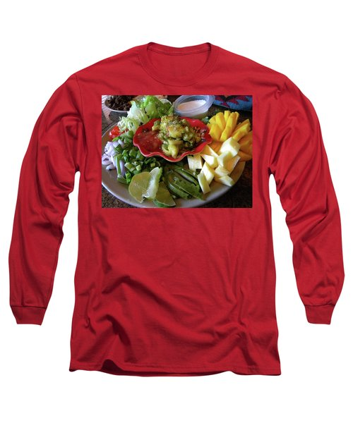 The Perfect Taco  Long Sleeve T-Shirt by Sian Lindemann