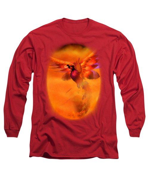 The Phoenix Long Sleeve T-Shirt by Brandy Thomas