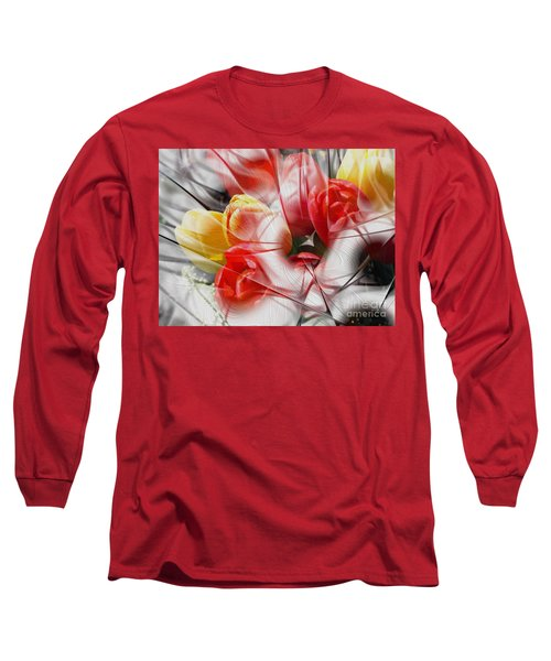 The Picture Behind The Fractal -16- Long Sleeve T-Shirt