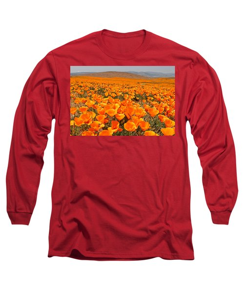 The Poppy Fields - Antelope Valley Long Sleeve T-Shirt