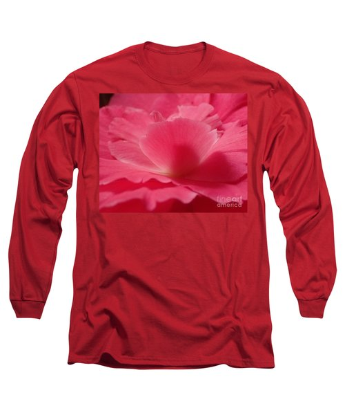 The Power Of Pink Long Sleeve T-Shirt by Christina Verdgeline