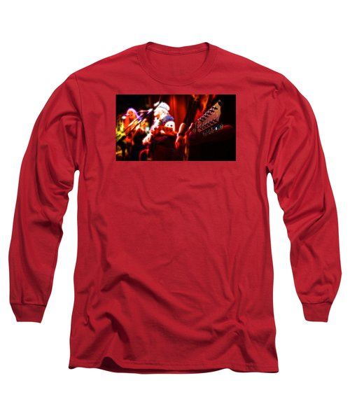 Long Sleeve T-Shirt featuring the photograph The Radiant Musicians by Cameron Wood