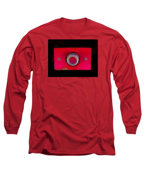 The Red Button Long Sleeve T-Shirt