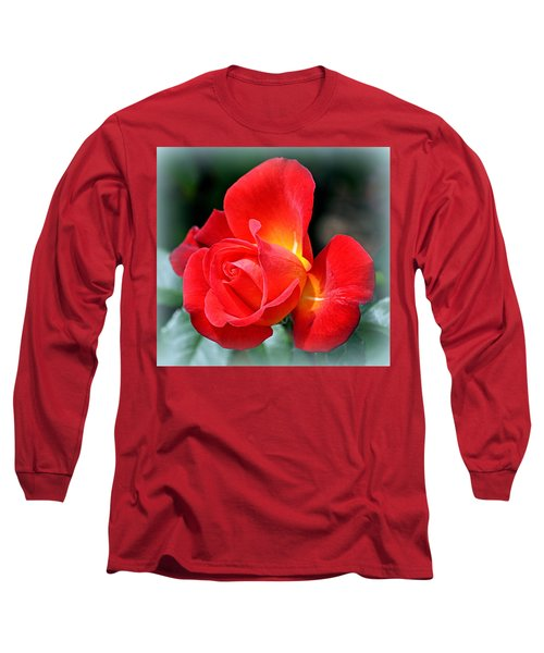 The Red Rose Long Sleeve T-Shirt