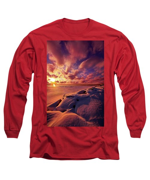 Long Sleeve T-Shirt featuring the photograph The Return by Phil Koch