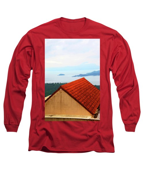 The Roof Be Told Long Sleeve T-Shirt by Jez C Self