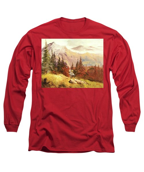 The Scout Long Sleeve T-Shirt by Alan Lakin