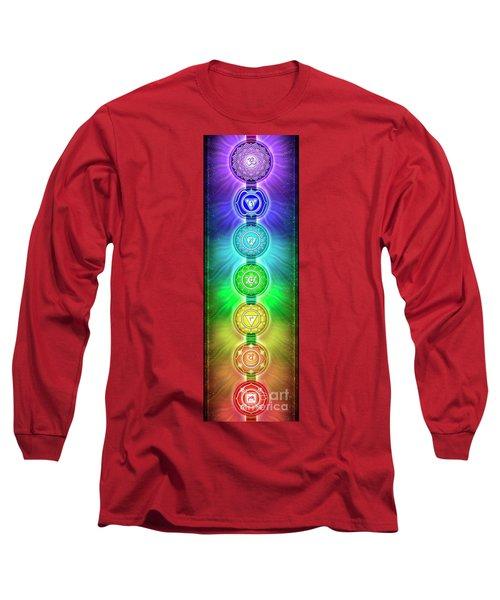 The Seven Chakras - Series 2 Long Sleeve T-Shirt
