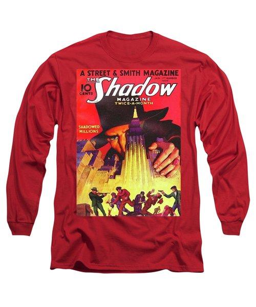 The Shadow Shadowed Millions Long Sleeve T-Shirt