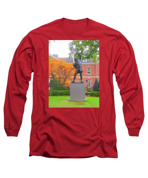 The Signer Long Sleeve T-Shirt by J R Seymour