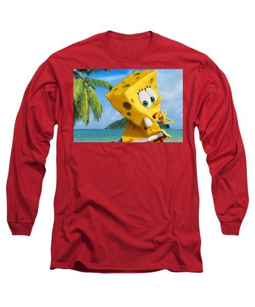 The Spongebob Movie Sponge Out Of Water Long Sleeve T-Shirt