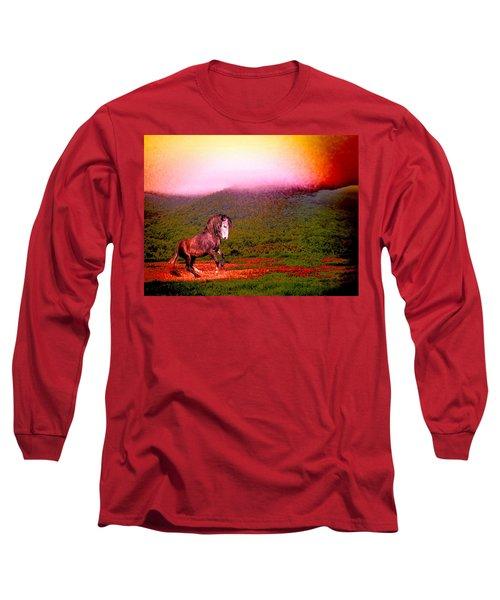 The Stallion Has Faith Long Sleeve T-Shirt