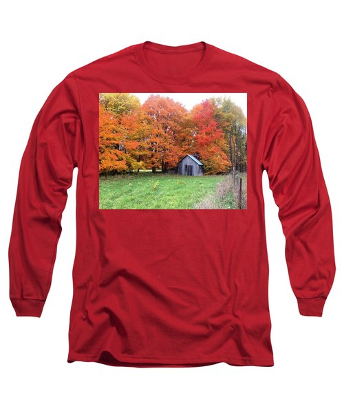 The Sugar Shack Long Sleeve T-Shirt by Pat Purdy
