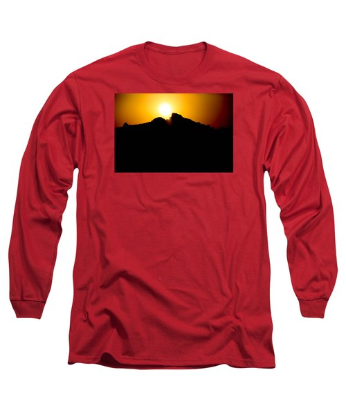 Long Sleeve T-Shirt featuring the photograph The Sun Feeds Me by Jez C Self