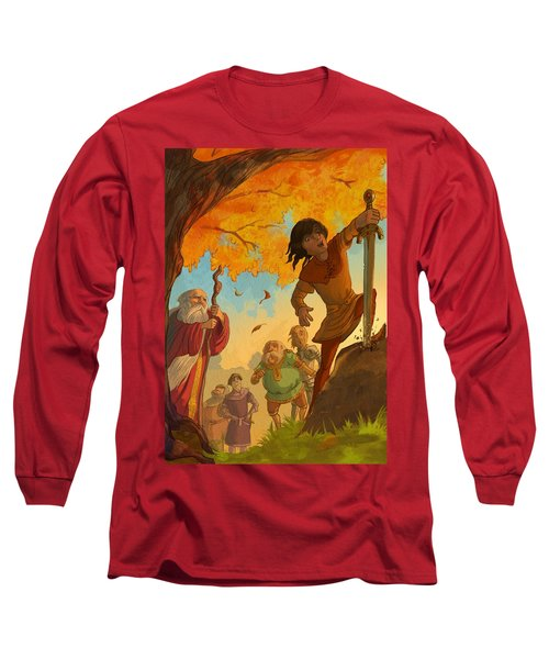 The Sword In The Stone Long Sleeve T-Shirt