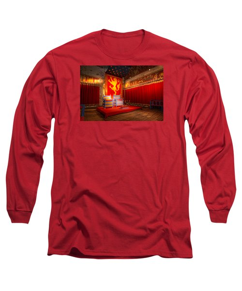 The Throne Room Of Dover Castle Long Sleeve T-Shirt