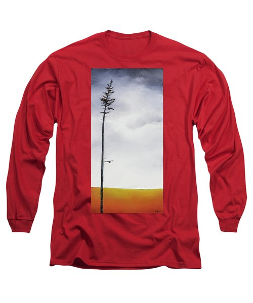 The Trees Are So Tall Here  II     Long Sleeve T-Shirt by Carolyn Doe