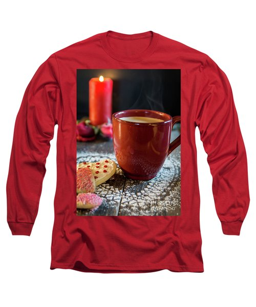 Long Sleeve T-Shirt featuring the photograph The Warmth Of Our Love by Deborah Klubertanz