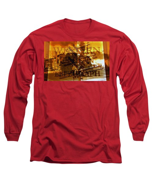 The Way West Long Sleeve T-Shirt by David Lee Thompson