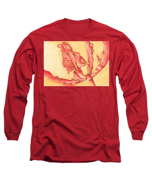 The Wet Dragon Long Sleeve T-Shirt by Versel Reid