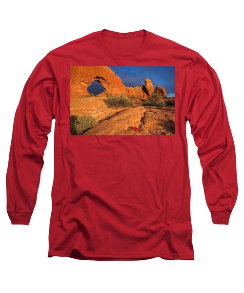 Long Sleeve T-Shirt featuring the photograph The Window by Steve Stuller