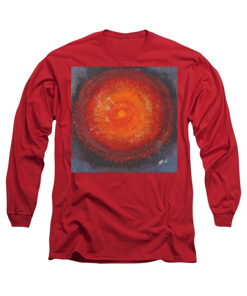 Third Eye Original Painting Long Sleeve T-Shirt