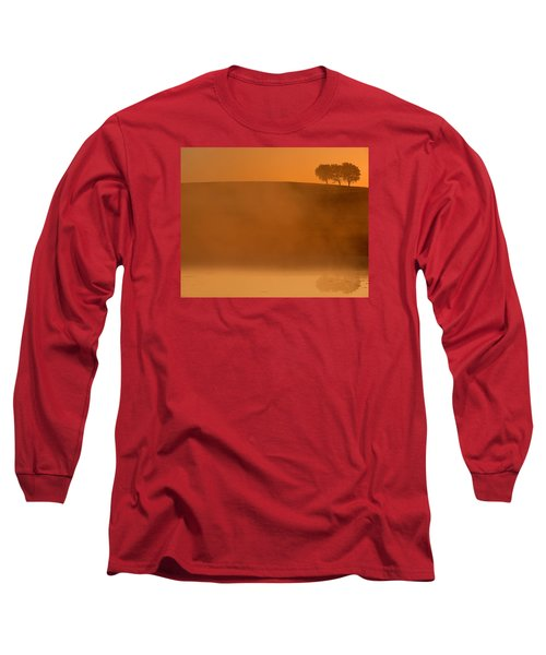 Three Trees  Long Sleeve T-Shirt by Don Spenner