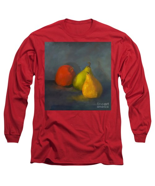 Three's A Crowd Long Sleeve T-Shirt by Genevieve Brown