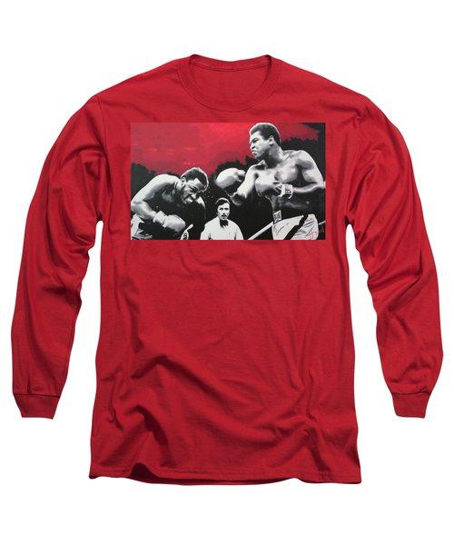 Thrilla In Manila Long Sleeve T-Shirt